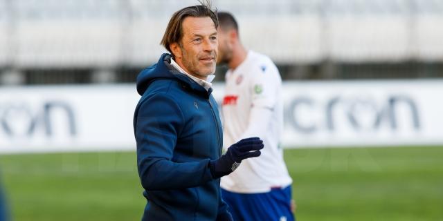 Trener Tramezzani i Stanko Jurić uoči utakmice Hajduk - Osijek