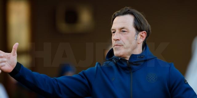 Trener Tramezzani uoči utakmice Slaven Belupo - Hajduk