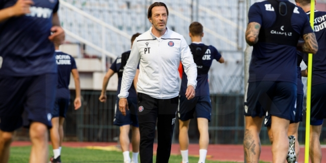 Trener Tramezzani uoči utakmice Varaždin - Hajduk