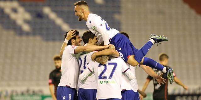 Split: Hajduk - Gorica 4-0
