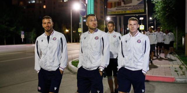 Hajdukovci stigli u Kostanay