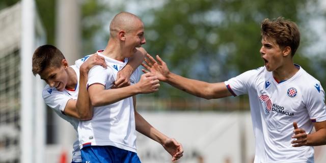 Reprezentativni poziv za 12 mladih igrača Hajduka