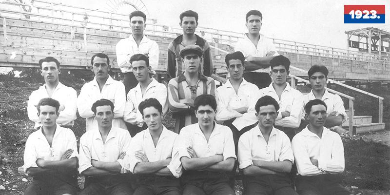 90 godina od prve prvenstvene utakmice