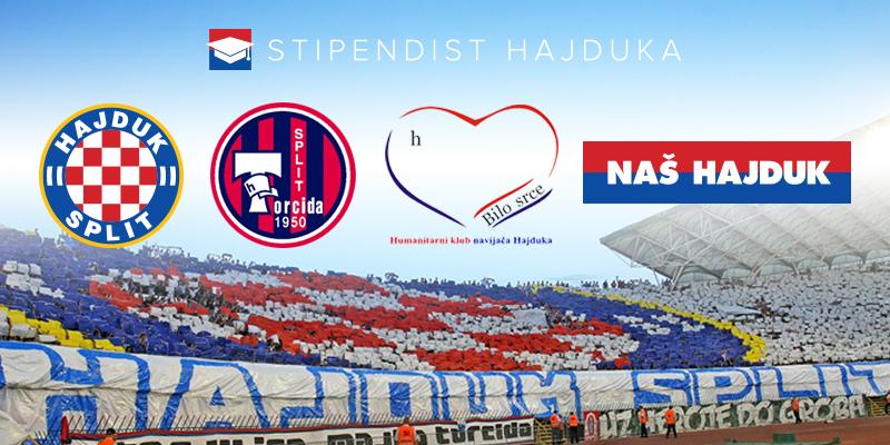 """Javni poziv za prikupljanje sredstava za projekt """"Stipendist Hajduka"""""""