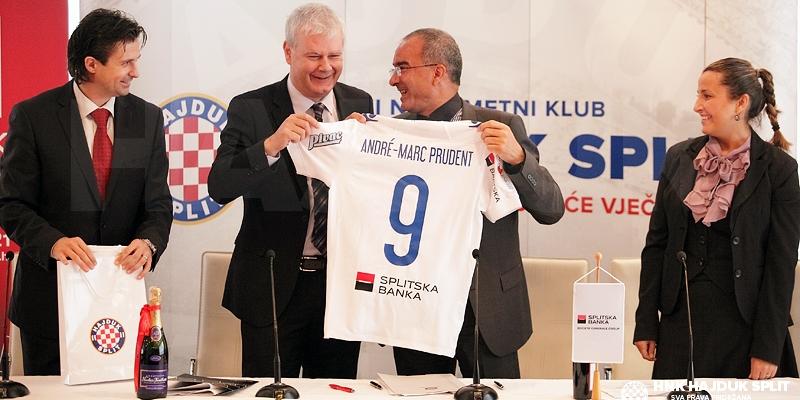 Hajduk i Société Générale Splitska Banka potpisali ugovor o sponzorstvu