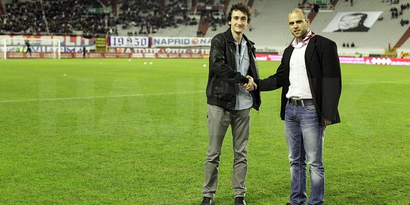 Izabran prvi stipendist Hajduka