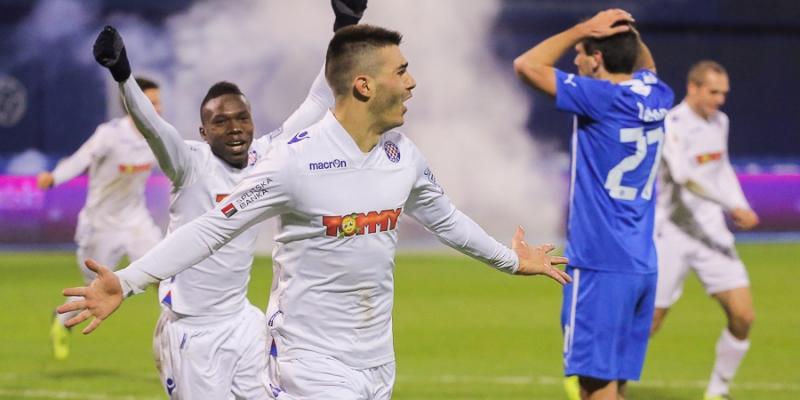Maksimir: Lokomotiva - Hajduk 0:2