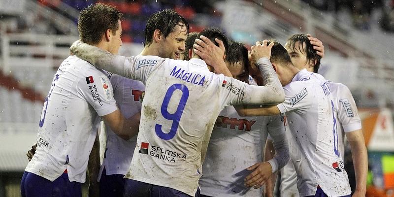 Poljud: Hajduk - Slaven Belupo 3:0