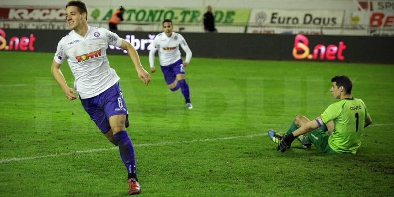 Hajduk s uvjerljivo najmlađom momčadi od najboljih 4