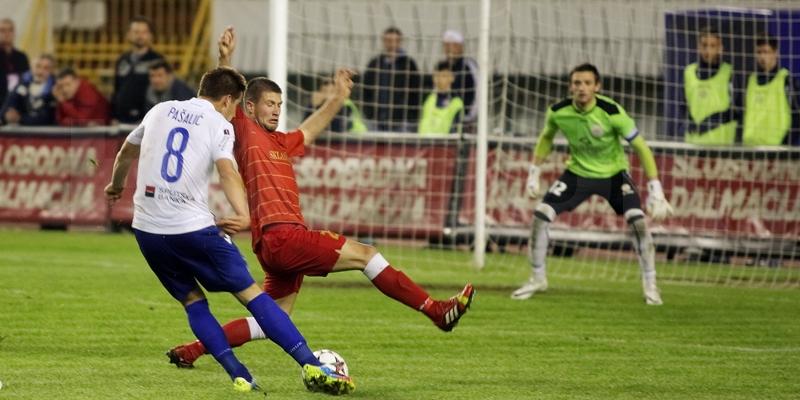 Poljud: Hajduk - RNK Split 1:0