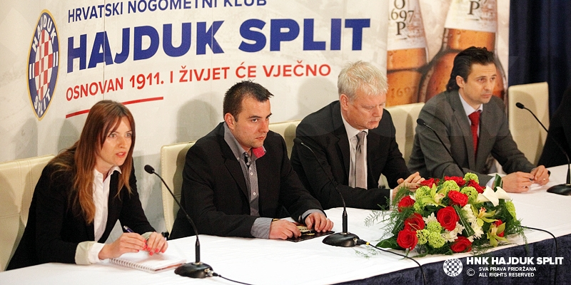 Predstavljena suradnja HNK Hajduk i Pivovare Osijek