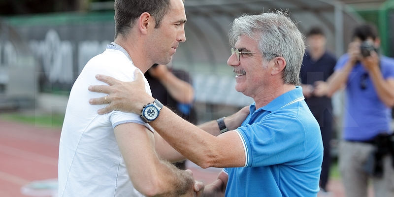 Bijele na prvom treningu pozdravio kondicijski trener Rome