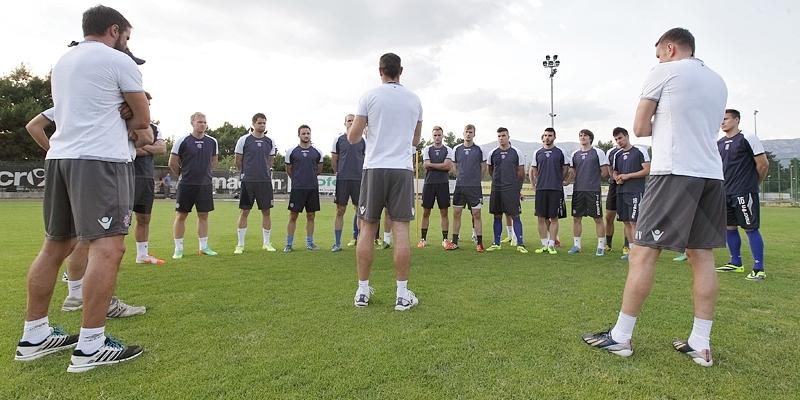 Bijeli odradili prvi trening u novoj sezoni