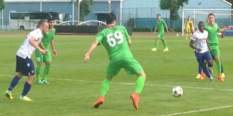 Kranj: Rubin K. - Hajduk 1:1