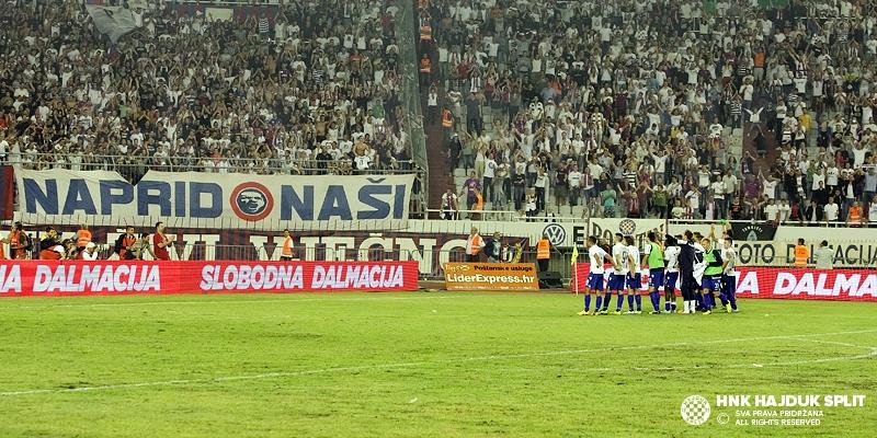 Hajduk protiv Dundalka, prvi dvoboj na Oriel Parku