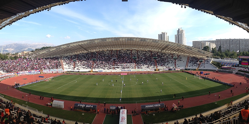Poljud: Hajduk - Dinamo (Z) 1:1