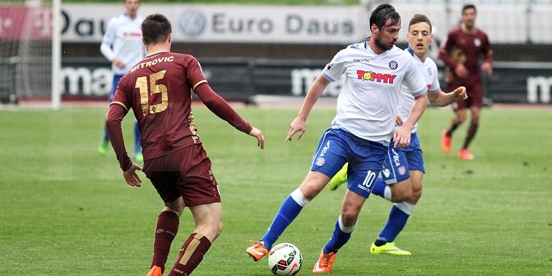 Poljud: Hajduk- Rijeka 1:2