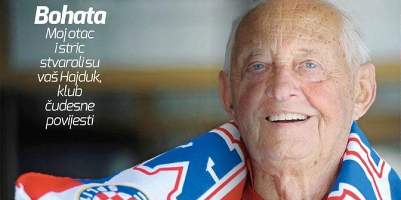 Upoznajte Otakara Bohatu čiji je otac Jaroslav bio trener Hajduka prije više od 90 godina