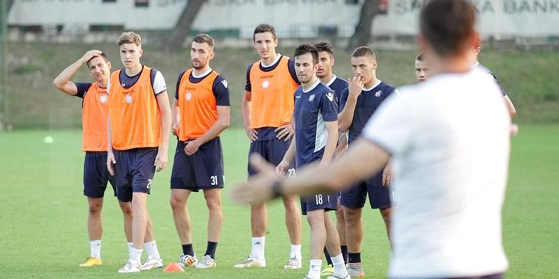 Hajdukovci u srijedu ujutro trenirali u Dugopolju