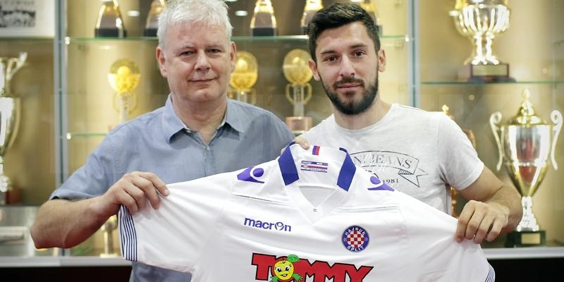 Hrvoje Milić novi je igrač Hajduka!