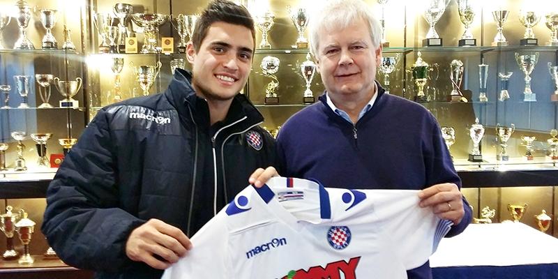 Manuel Arteaga novi je igrač Hajduka