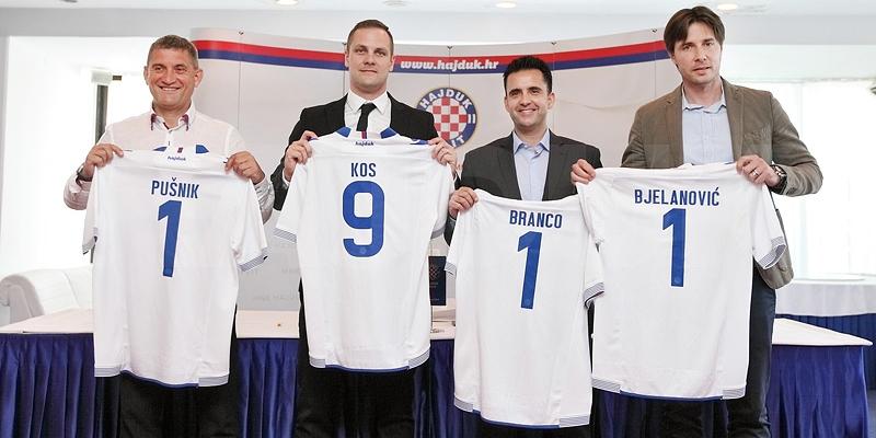 Pogledajte predstavljanje trenera Pušnika i sportskog direktora Branca