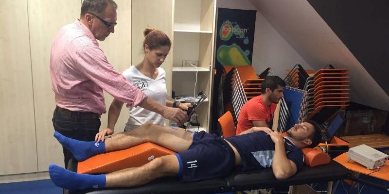 Prvotimci testirali mišiće TMG sustavom