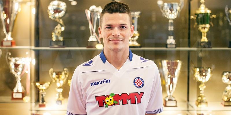 Ante Erceg potpisao za Hajduk!