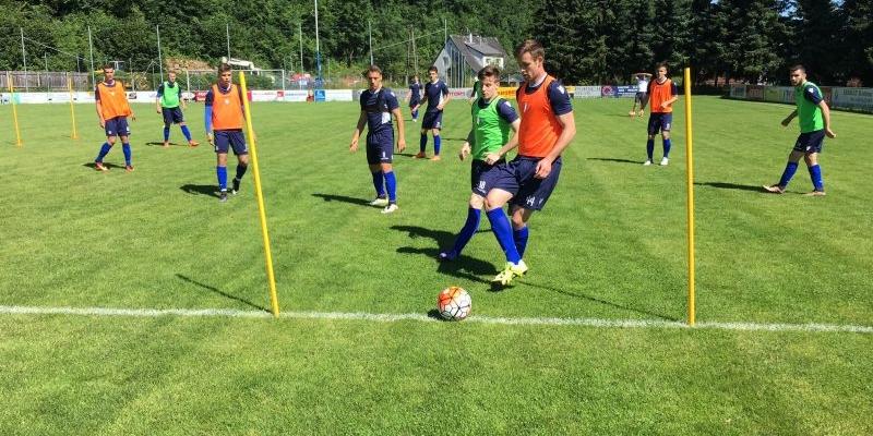 Prvotimci odradili jutarnji trening u Steyru