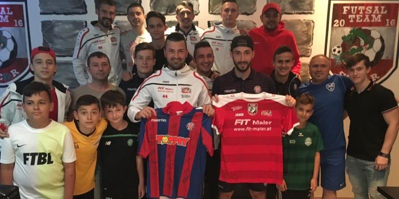 Hajdukovci posjetili futsal momčad Fit Maler Dietach