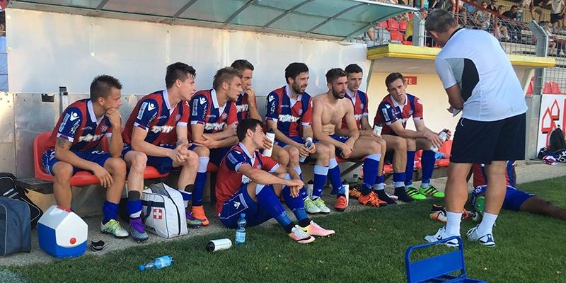 Steyr: Vorwärts - Hajduk 0:6