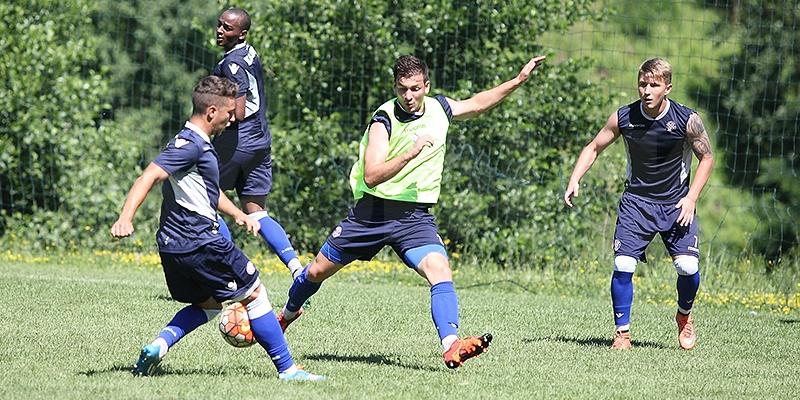 Hajdukov 29. trening obilježile vježbe snage i tehnike