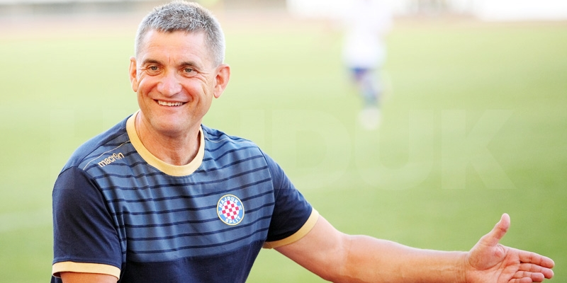 Konferencija za medije trenera Pušnika nakon pobjede nad Slavijom