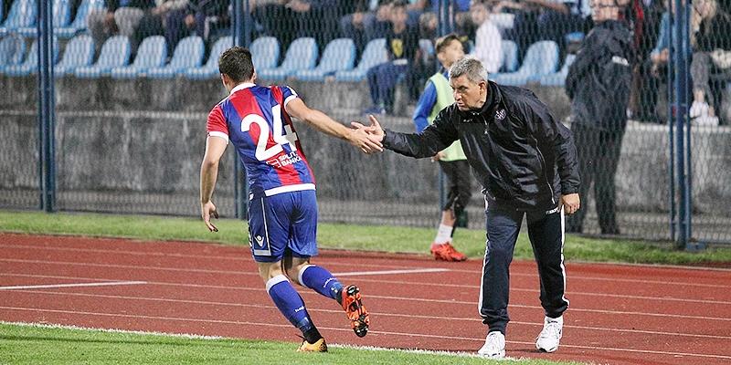 Konferencija za medije trenera Pušnika nakon pobjede nad Cibalijom