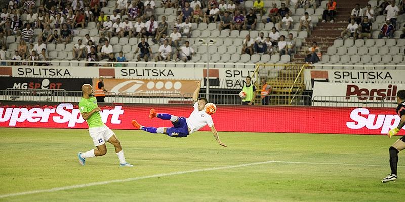 Poljud: Hajduk - Iasi 2:1