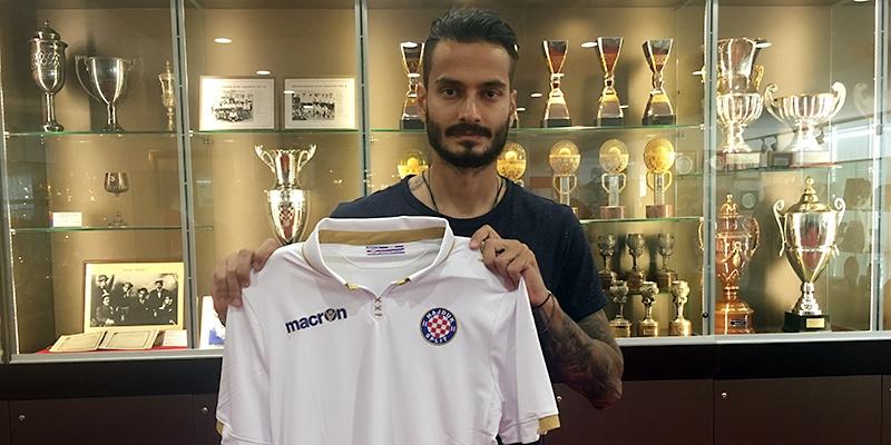 Savvas Gentsoglou novi je igrač Hajduka!