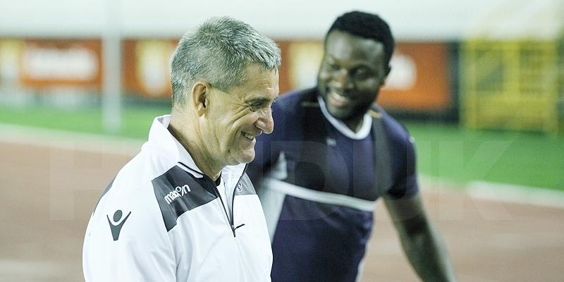 Hajdukovci u izvrsnoj atmosferi odradili službeni trening uoči Maccabija