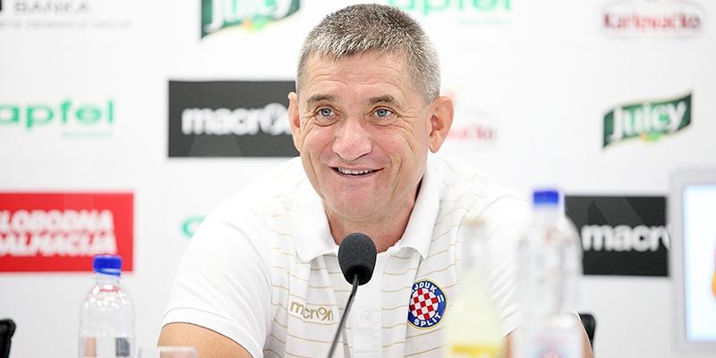Konferencija za medije trenera Pušnika uoči susreta s Interom