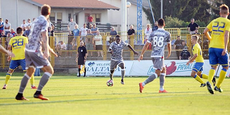 Zaprešić: Inter Z. - Hajduk 1:1