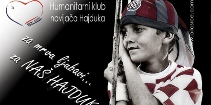 Poziv donatorima: Imena štićenika Bilog srca na Hajdukovom dresu!