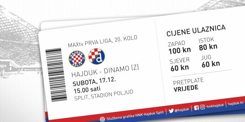 Prodaja ulaznica za derbi s Dinamom!