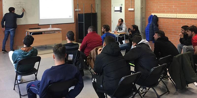 Joan Carrillo u Gironi održao predavanje budućim španjolskim trenerima