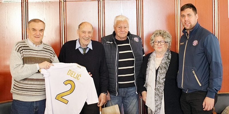 Hajdukova delegacija posjetila Svemira Delića