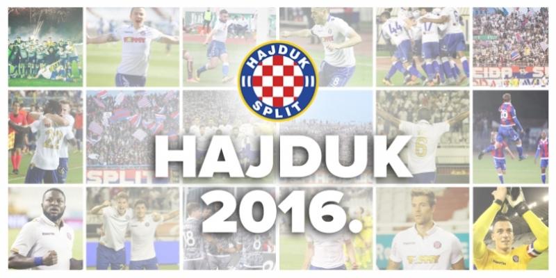Hajdukove brojke u 2016. godini!