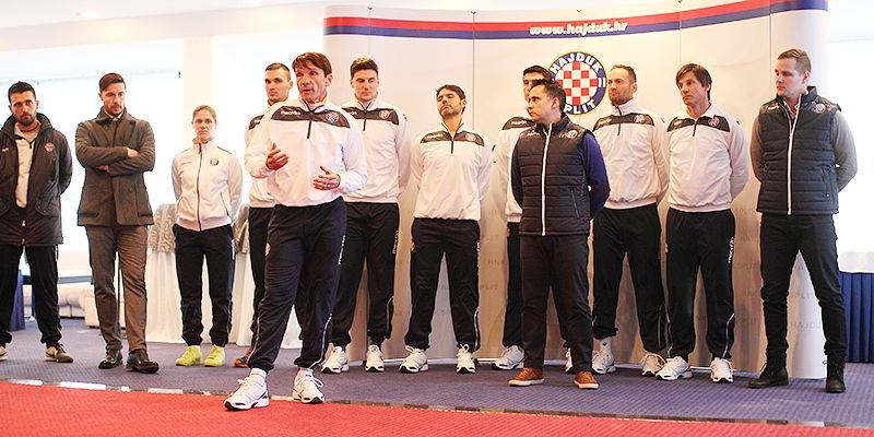 Hajduk presents the new first team coaching staff