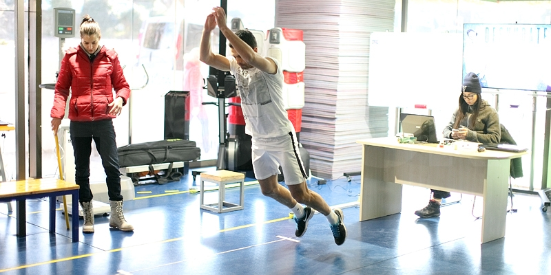 First team underwent tests at the Institute of Kinesiology and Sport