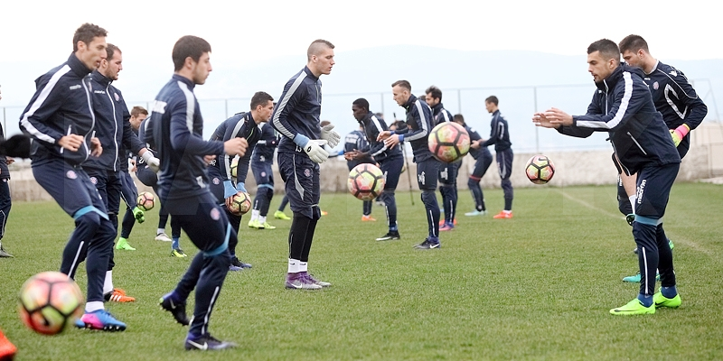 Hajduk od utorka do četvrtka trenira na Braču