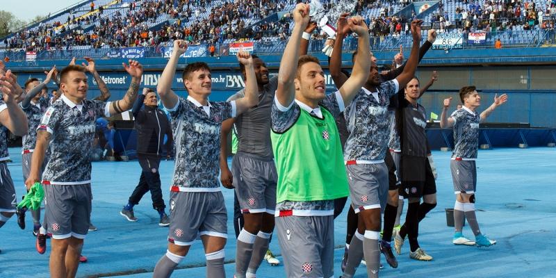 Fotogalerija najzanimljivijih trenutaka pobjede Hajduka na Maksimiru
