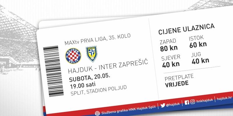 Prodaja ulaznica za utakmicu protiv Zaprešićana