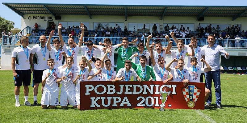 Pioniri Hajduka osvojili Hrvatski nogometni kup!